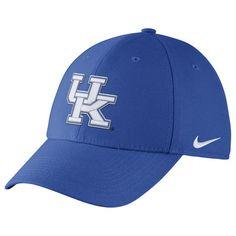 0fb2a501b20 Kentucky Wildcats Nike Swoosh Performance Flex Hat - Royal. Kentucky  WildcatsUniversity Of KentuckyFitted CapsMens ...