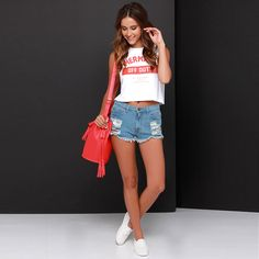 6cbf64be6 Women Tops Sexy Crop Tops 2015 New Mermaid Off Summer Duty Print All-match  Navel Shirt
