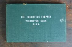 Torrington Company surgical needle set in case.