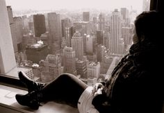 On the top of the world in NYC. The greatest city on earth. I spent 10 days there in 2009.