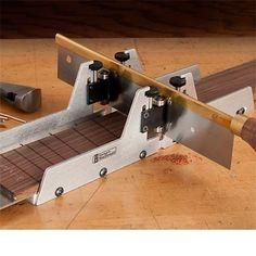 Fret Slotting Miter Box | stewmac.com