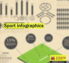 #Graphic - #Sport #infographics - Zizaza item