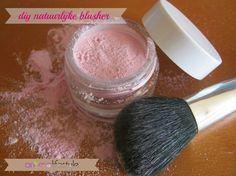 Natuurlijke blush, poeder of creme rouge zelf maken Diy Beauty, Fashion Beauty, Diy Deodorant, Natural Make Up, Blusher, Diy Makeup, Lip Gloss, Diys, Skin Care