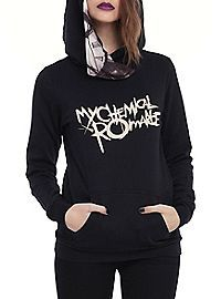 HOTTOPIC.COM - My Chemical Romance Black Parade Girls Pullover Hoodie