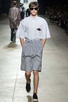 Dries Van Noten Spring 2016 Menswear Fashion Show