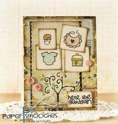 Card by PS DT Laurie Schmidlin using the PS stamps set Pip Squeaks