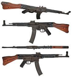 Gun porn.if I get rich I want a original. -German Sturmgewehr StG 44 was the main precursor of Kalashnikov AK 47