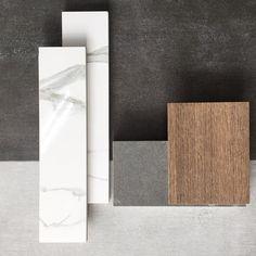 Kitchen Concept || Warm Accents #tilelove #tileconcept #tiles #tile #style #interiors #interiordesign #kitchendesign #moodboard #calacatta #TileCiti #Melbourne
