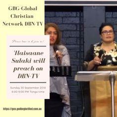 GBGGCN DBN-TV Sunday 30 September 2018 – 'Ilaisaane Sulaki – FB Ad 30 September, Sunday, Ads, Facebook, Domingo