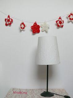 Silvia e Greg: Tutorial stelle natalizie a crochet