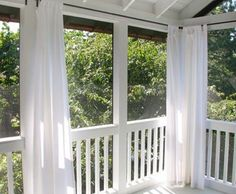 Living Room: Best Best 25 Sunbrella Outdoor Curtains Ideas On Pinterest  Sunbrella Concerning Outdoor Curtains