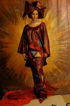 Mali fashion bazin brodé #MaimourArt