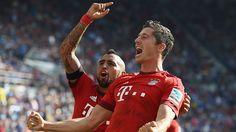 TSG 1899 Hoffenheim - FC Bayern (1:2) / Lewandowski scored the last-minute winner / 22.08.15