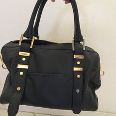 Authentic Rachel Zoe handbag Gently used Rachel Zoe handbag.  100% Leather.  12 L x 8.5 H x 7 D.   Some scuff marks.  No shoulder strap included. Rachel Zoe Bags Satchels