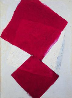 Sem título, TOMIE OHTAKE, Coleção MAM - Museu de Arte Moderna de São Paulo Tomie Ohtake, Color Blocking, Colour Block, House Colors, Female Art, New Art, Painting & Drawing, Red Color, Contemporary Art