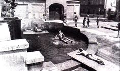 Jesuits square, Upper town #old #Zagreb #old #pictures #oldtimes #blacknwhite #photography #CasaBlanca #18century #19century #timemachine