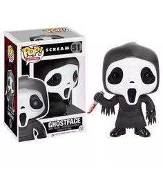 Funko Pop Scream Ghostface Vinyl Figure Wes Craven Serial Killer Movie Art 2014 | eBay