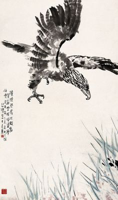Xu Beihong's Eagles | Chinese Painting | China Online Museum