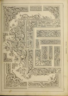 The Tradesman's Book of Ornamental Designs by Leith, Samuel  Published 1847 Topics Decoration and ornament
