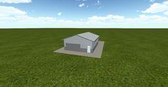 Cool 3D #marketing http://ift.tt/2AC9ppb #barn #workshop #greenhouse #garage #roofing #DIY