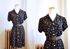 i need this adorable 1990s grunge floral dress! $38