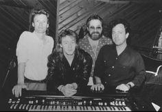 Steve Winwood, Julian, Phil Ramone and Billy Joel - The Bridge album.