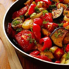 Ratatouille: This Recipe is appropriate for Phases 2, 3, & 4 of the Atkins Diet. Net Carbs: 6 grams, Fiber: 4.5 grams, Protein: 2.2 grams, Fat: 12.9 grams, Calories: 154. Percent Daily Values are based on a 2,000 calorie diet