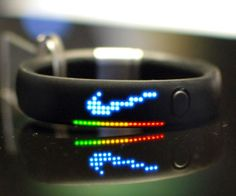 Help maintain a healthy lifestyle by tracking your daily activity using the Nike fuel band. This high tech gadget allows you to track calories burned and the number of steps you take so that you can monitor your progress in real time and achieve your goals more easily.