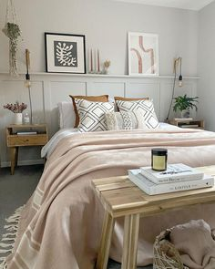 Homeware's best kept secret: Shop all things 'Soft and Subtle Warmth' (and more) on Fy! 🧡 Scandi Bedroom, Airy Bedroom, Bedroom Wall, Master Bedroom, Bedroom Decor, Bedroom Ideas, Safari Bedroom, Contemporary Bedroom, Dream Decor
