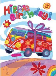 kaart met vw happy birthday - Google zoeken