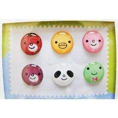 """""""Home"""" Button Sticker for iphone/ipad/itouch, Smile, 6 Stickers (Wireless Phone Accessory)"""