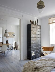 Industrial Cabinet of Drawers.