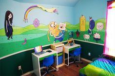 O quarto dos sonhos de qualquer fã de Adventure Time