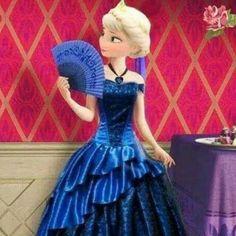 Elsa as Anna
