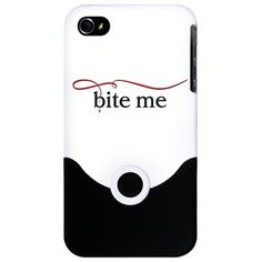 The Vampire Diaries bite me iPhone Case