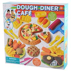 Playgo Dough Diner Caf Set * To view further for this item, visit the image link.-It is an affiliate link to Amazon. #ClayandDought