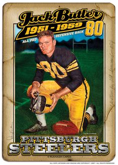 dcb7a0745 My All time Steelers Defensive team DB Jack Butler
