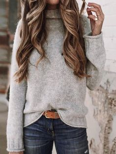Cute casual winter fashion outfits for women fashion outfits, fall fashion .Cute casual winter fashion outfits for women fashion outfits, fall fashion stylish sweater outfits for the cold winter - stylish Winter Outfits For Teen Girls, Stylish Winter Outfits, Winter Outfits For Work, Winter Outfits Women, Summer Outfits, Winter Clothes, Early Fall Outfits, Casual Winter, Casual Fall Outfits