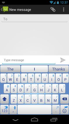 fcd6117519c Highlight Yellow theme on SwiftKey Keyboard for Android. See more. Our Sky  blue summer theme, introduced to SwiftKey 3 in August 2012. Android Theme