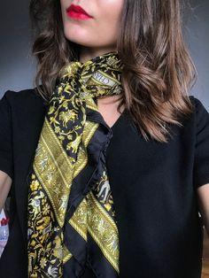 65 meilleures images du tableau CARRÉ DE SOIE   How to wear scarves ... d1b48dca6f6
