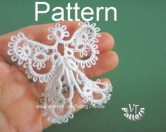 Mini 3D Christmas tree pattern and by AlenAleaDesign on Etsy