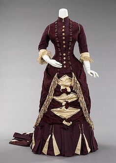 Afternoon Dress, 1880