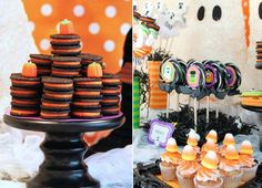 Get ready for TONS of ideas and inspiration for your Halloween party! Amanda of Amanda's Parties to Go has created a bright and fun kids Halloween party using her new printable set, and as usual she has left no surface untouched. With treats, drinks, photo props, and favors, you can gather an unlimited number of …