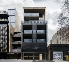 Completed in 2017 in Melbourne, Australia. Images by Nicole England, Aaron Puls. . On a deep, narrow site in Collingwood, SJB's Tapestry holds its own amid a variety of building types by directly addressing the myriad elements...