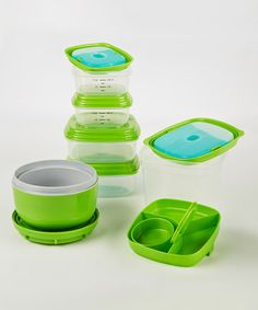 Look what I found on #zulily! 17-Piece Portion Control Container Set #zulilyfinds