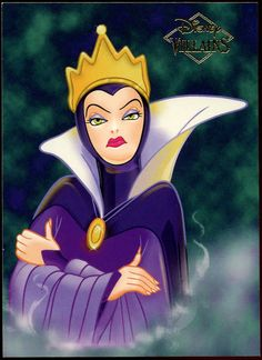 ms madusa disney villian | 1997 Disney Villains Trading Cards