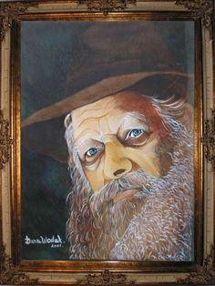 oil tempera on canvas, 50\40cm painted Dana Wodak דנה וודק