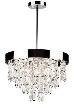 Elegante Chandelier : 70539 | The Lighting Boutique {master bathroom}