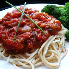 "Stephanie's Freezer Spaghetti Sauce I ""Excellent! I have made this for several years. I love to pile my freezer full and enjoy it all year long."""