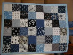 Japanese Blue and White Quilt